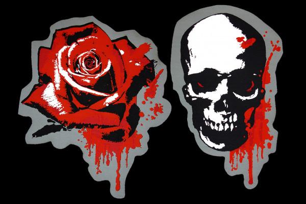 Rose & Skull