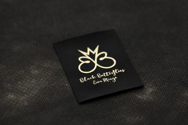 Eva Minge Black Butterfiles